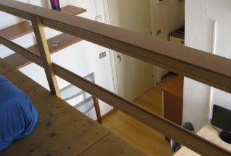 Monolocale a Como con balcone